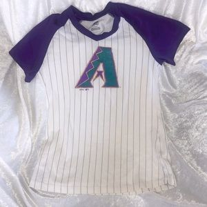 Authentic MLB Cooperstown Collection Dbacks tee